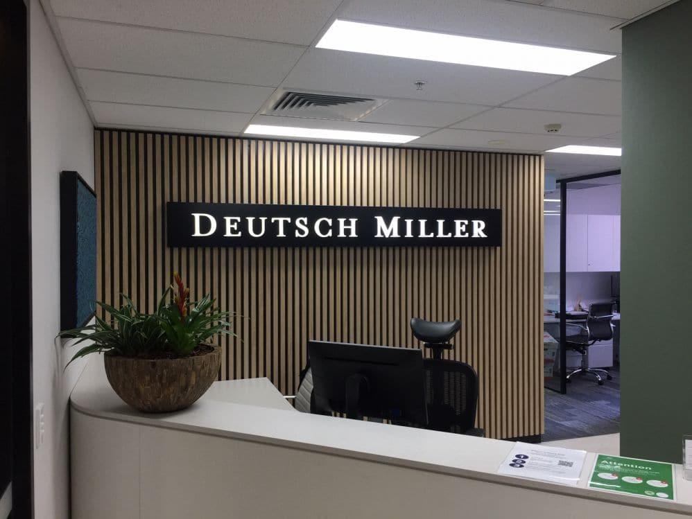 Deutsch Miller 20mm letters (3D556)