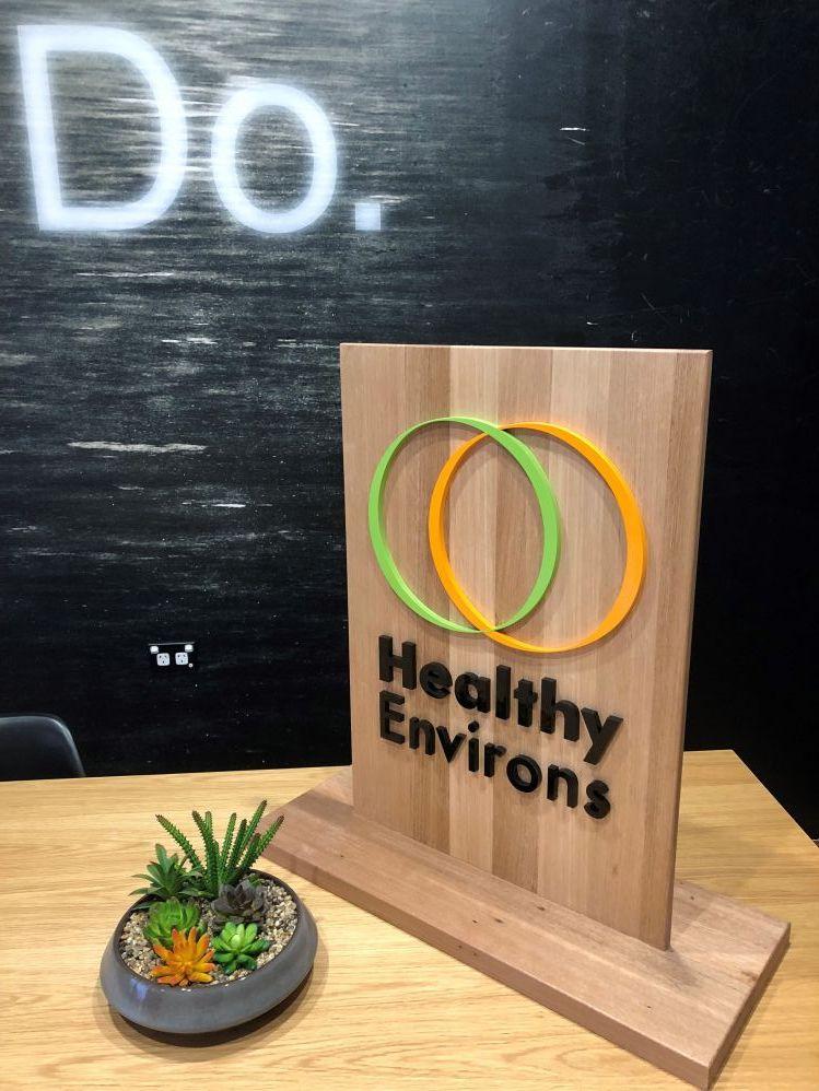 Timber 3D logo sign (3D331)