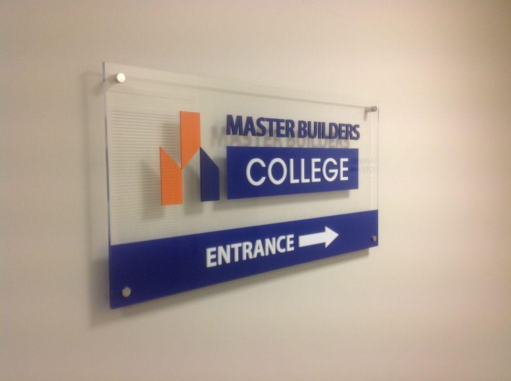 Reception Wall Sign (3D140)