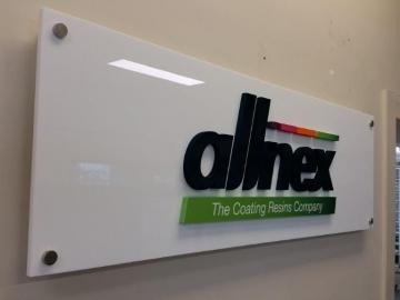 3D acrylic Reception sign (3D297)