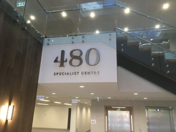Stainless Steel letters (3D334)