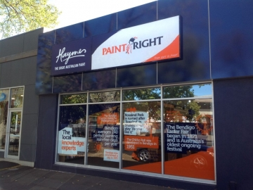Light box and window graphics (BS192)