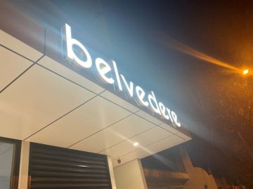 Illuminated canopy 3d letters (BS597)