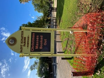 Fabricated Church-LED-sign (FS575)