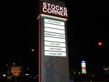 Freestanding Pylon sign with LED Illumination (FS276)