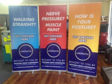 Digitally Printed Pull-Up Banners (FS132)