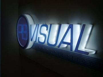 3D reception wall letters (IS33)