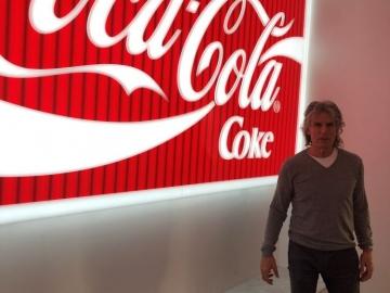 Illuminate acrylic Coke sign (IS353)