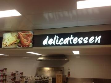 3D Supermarket Bulkhead Letters (IS157)