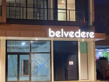 3D awning letters (IS589)