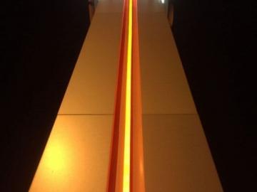 Continuous coloured LED strip, looks like neon tube (OS273)