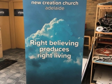 Church pull up banner (OS338)