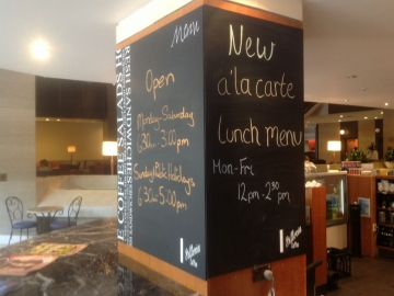 Cafe Chalk Board (OS170)