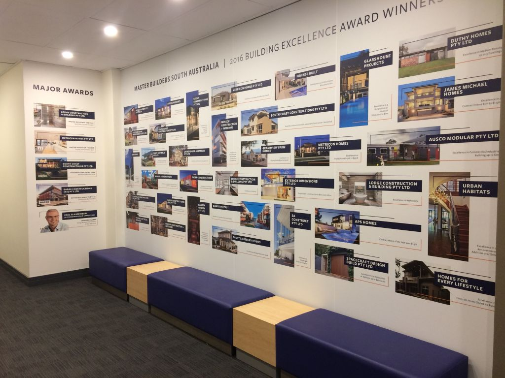 printed graphics wall murals mesh and vinyl banners backlit wallpaper winners wall pg298