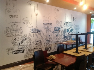Cafe Wall Graphics (PG146)