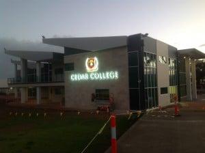 3D Illuminated Building Signage Adelaide