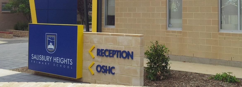 School signs, South Australia