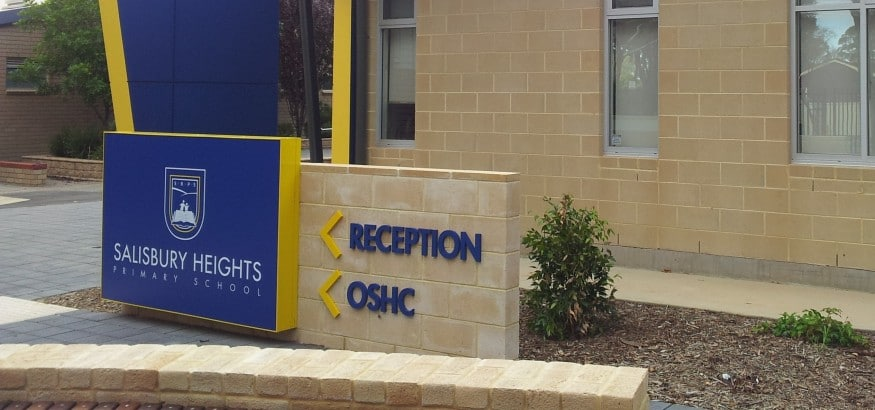 Adelaide Reception Sign