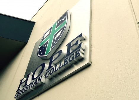 Adelaide 3D Fabricated Letters Signs