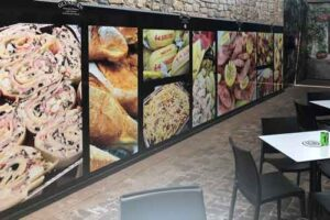 Flatbed Printed Window Graphics Adelaide