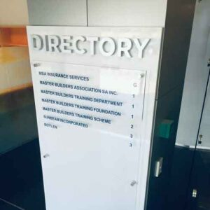 Office Directory Signs Design