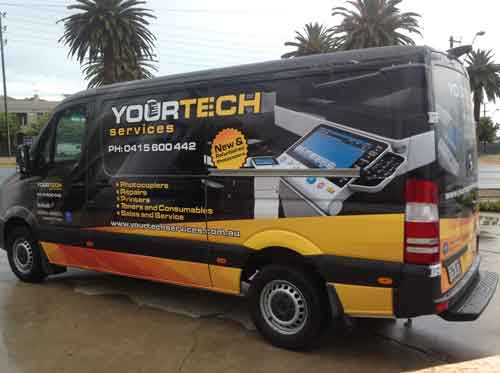 Vehicle Graphics Design Adelaide