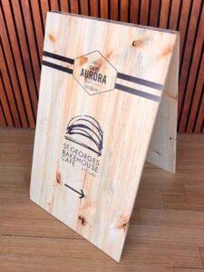 Adelaide Custom Timber A Frame Signage Designer