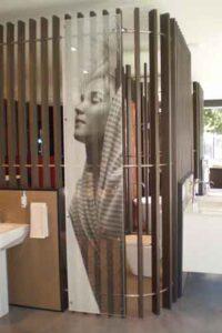 Perforated Metal Flatbed Digital Printing