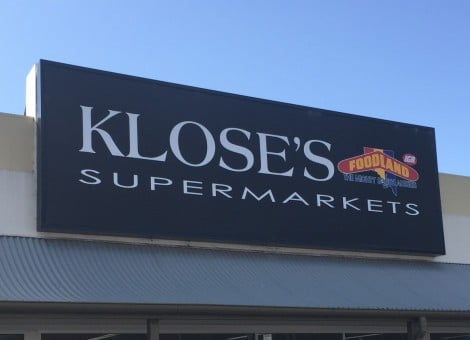 Supermarket sign design Adelaide