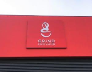 Adelaide Company Logo Light Box
