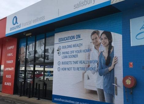 Adelaide Office Signage