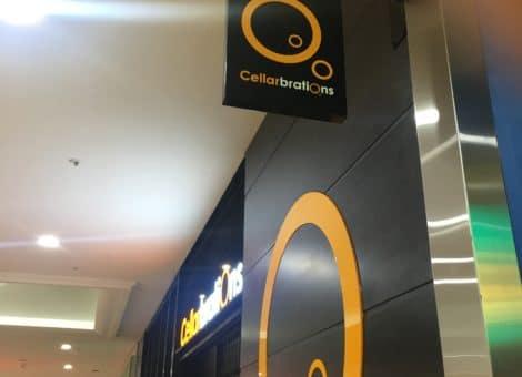 Adelaide Hanging Light Box Sign