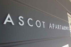 Sydney Metallic Look Acrylic Letters Signs
