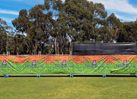 village green international event signs australia 4