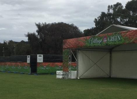 village green international event signs australia 2