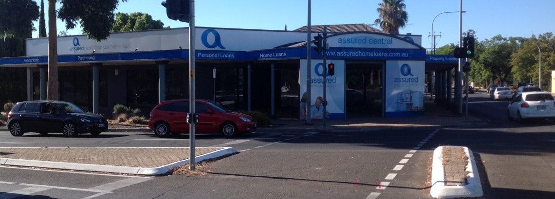 Assured Homeloans building signage Adelaide