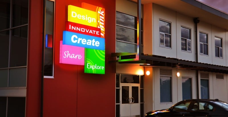 Adelaide Acrylic Illuminated 3D Signs